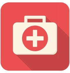 Medical box vector