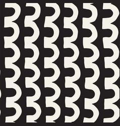 monochrome minimalistic tribal seamless pattern vector image