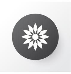 flower icon symbol premium quality isolated vector image