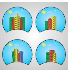 House color logo design template vector