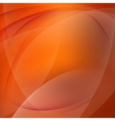 Abstract orange mooth twist light lines EPS 10 vector