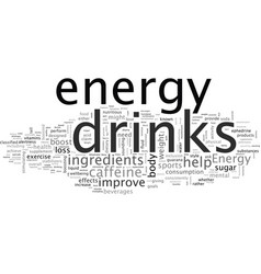 Can energy drinks help you lose weight vector