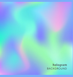 holographic abstract background cosmic texture vector image