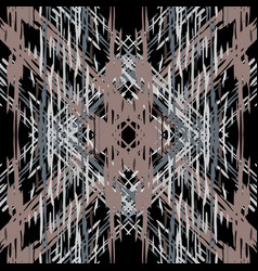 Paint texture shibori staining ornament vector