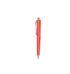 pen icon isolated flat design isolated on white vector image