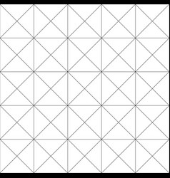 repeatable detailed grid mesh pattern black and vector image