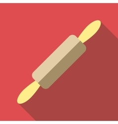 Rolling pin icon flat style vector