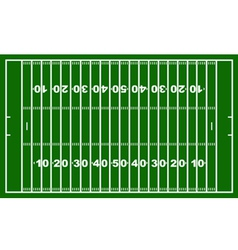 american football field vector image vector image