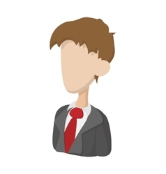 Businessman icon cartoon style vector image vector image