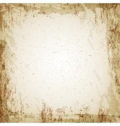Grunge vintage paper texture background vector image vector image