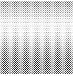 small repeating symmetrical half dots pattern vector image