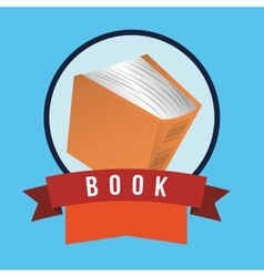 Books design vector image