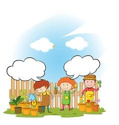 Gardeners vector
