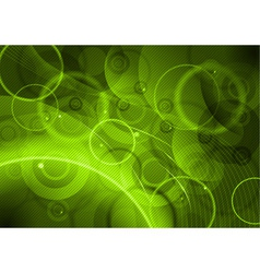 green abstract background with lines vector image