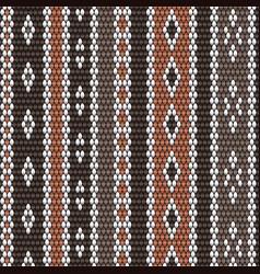 Handcraft winter wool texture weaving pattern vector