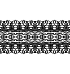 Lacy vintage trims vector image vector image