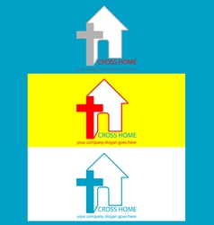 Logo christian vector image