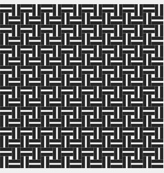 squared seamless pattern with symmetric geometric vector image