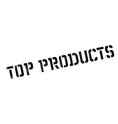 Top Products rubber stamp vector image vector image