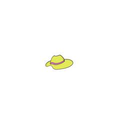female hat icon vector image