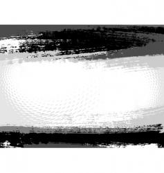 grunge border vector image vector image