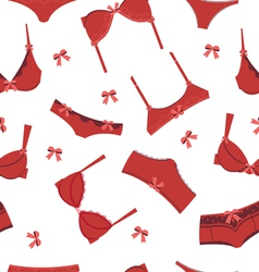 Lingerie background vector image vector image