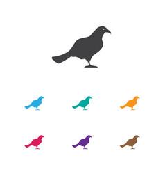 of animal symbol on ocean mew vector image