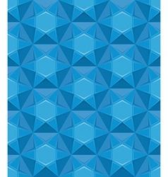 Sapphire seamless texture Blue gem background vector image