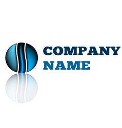 Idea design logo of company Technology business vector image vector image