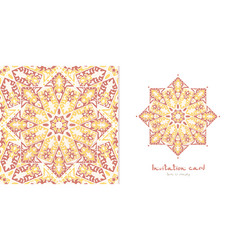 beautiful card vector image vector image