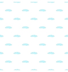 Cloud pattern cartoon style vector
