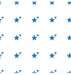 cookie icon pattern seamless white background vector image