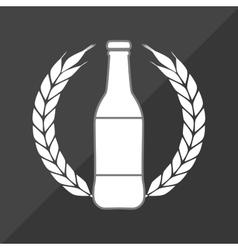 delicious cold beer vector image