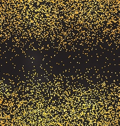 Glitter abstract background Particles confetti vector image