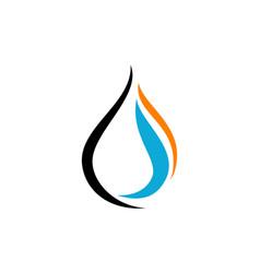 Oil water gas vector