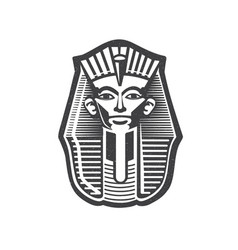 pharaoh egyptian ancient symbol vector image