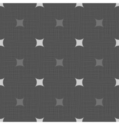 Seamless retro pattern Linen eps10 Vintage vector image