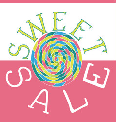 sweet sale2 vector image