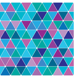 winter triangle pattern 24 vector image vector image
