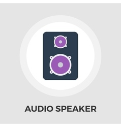 Speakers flat icon vector image