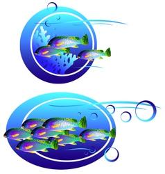 ocean vector image
