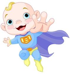 Super Baby Boy vector image