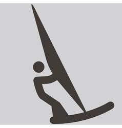 2291 sailing icon vector