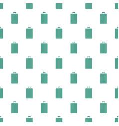 green travel bag pattern seamless vector image