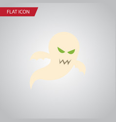 isolated phantom flat icon ghost element vector image
