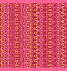 pink seamless pattern ethnic geometric ornament vector image