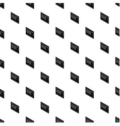 postal envelope pattern seamless vector image