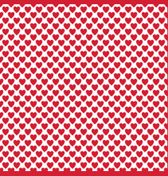 repeating heart background pattern - valentines vector image