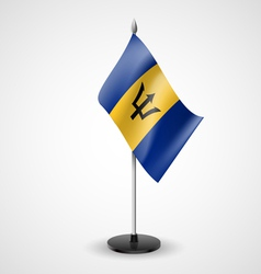 Table flag of Barbados vector