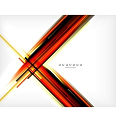 Unusual abstract background - thin straight lines vector image